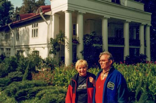 2001 Dni Gór w Jarosławiu-Roman Agdan (prezes)-Barbara Rapalska (v-ce prezes)