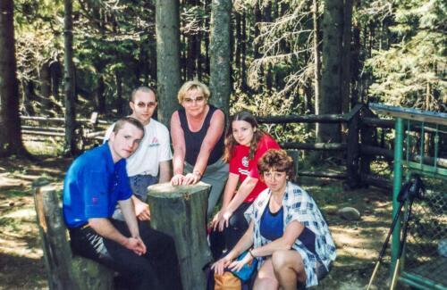 2002 Przełęcz Krowiarki-Barbara Rapalska